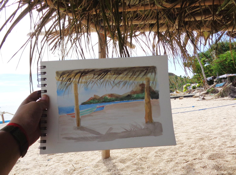 Malalison Island Painting