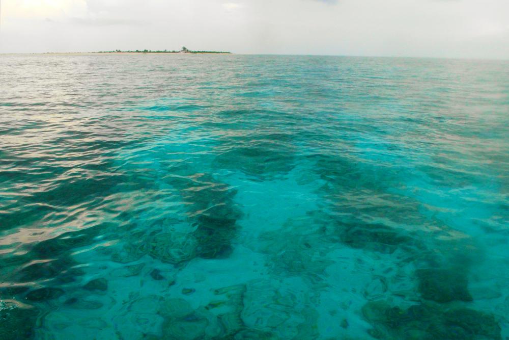 Nearing Seco Island