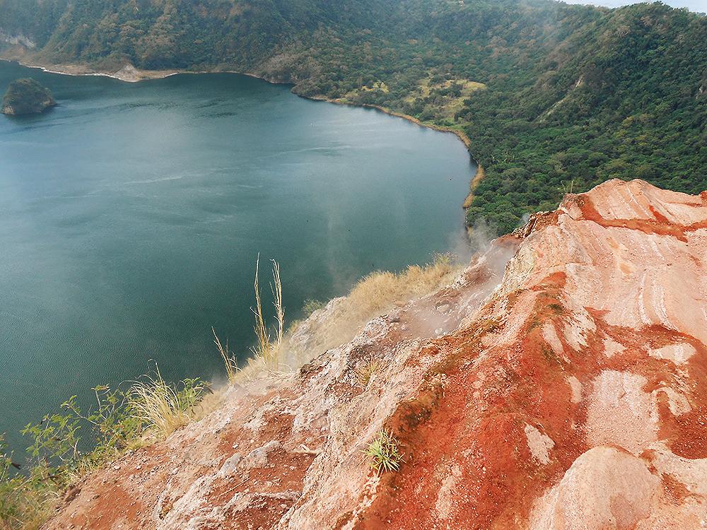 rust cliff